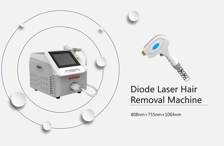 755 808 1064 Diode Laser 3 Wavelength 755Nm Alexandrite Laser Price