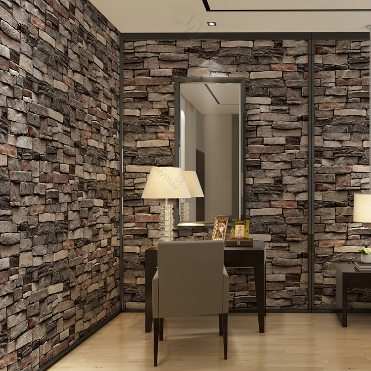 3d Brick Wall Paper Interiror Modern 3d Wallpaper For Wall