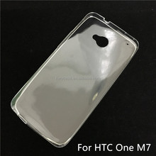 Soft TPU Silicon Transparent Clear Case for HTC one M7