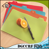 NBRSC High Production Colorful flexible Plastic Cutting Board Index