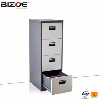 Legal Size 4 Drawer Steel Filing Cabinet For F4 And A4 File Folder