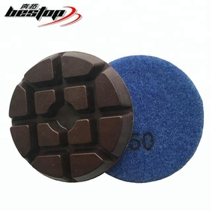"3"" Resin Bond Concrete Floor Polishing Pads"