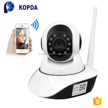 GOKE program dual-hd consumer wifi 2p2 wireless 2mp ip camera with speaker