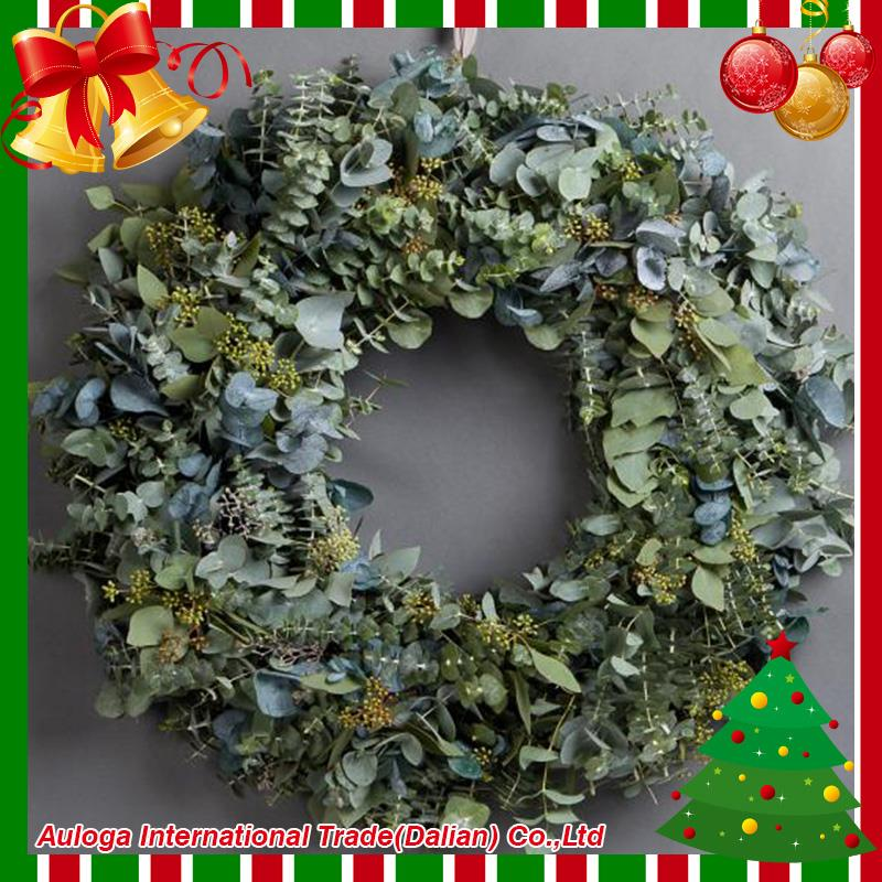 Cheapest outdoor metal christmas wreaths with low price