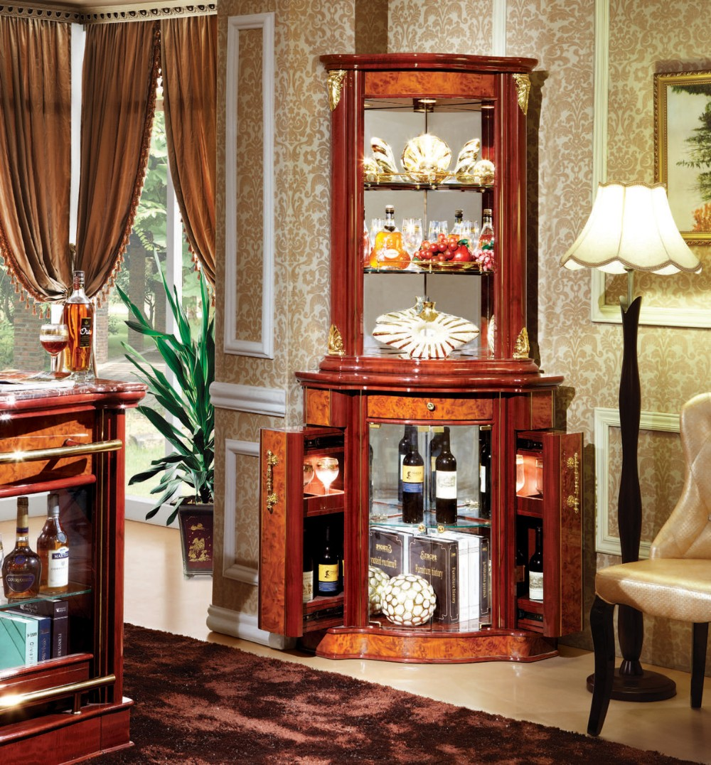 Home Furniture China Glass Corner Vitrine Cabinet For Dining Room Buy Glass Vitrine Vitrine