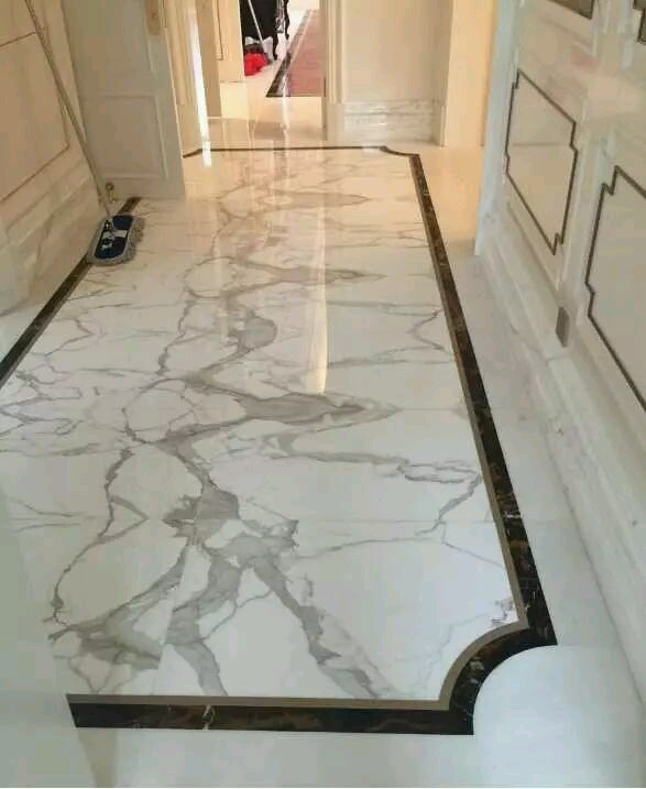 Floor marble design gurus floor for Floor tiles border design