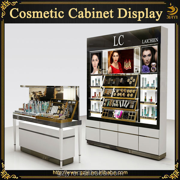 Fashion Wood Hot Sales Cosmetic Store Furniture With