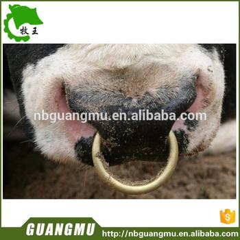 Plastic Calf Weaning Nose Rings Stainless Steel Professional Quality