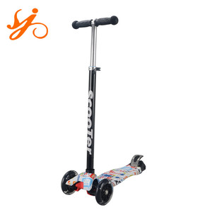 Aluminium Alloy Material Three wheels neo chrome scooter / cheap blade kick scooter for kids wholesale