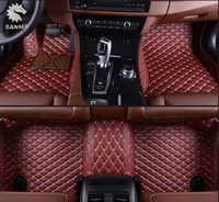 5D luxury car floor mats/right hand drive car mats