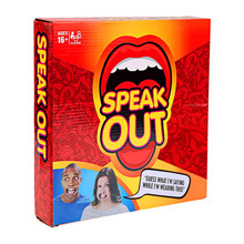 FBA hot sales Speak Out board Game Best Selling Board Game Interesting Party Game Wholesale