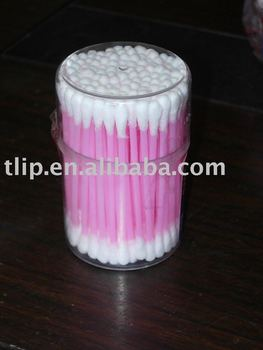 100 pcs strong plastic box Cotton Buds