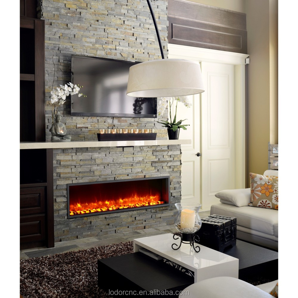 decor flame led electric fireplace insert heater buy decor flame