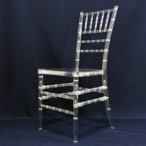 Manufacturer Crystal Chiavari Chair Resin For Event JC-C01
