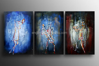 Triptych Wall Art home goods framed wall art,triptych abstract women art painting