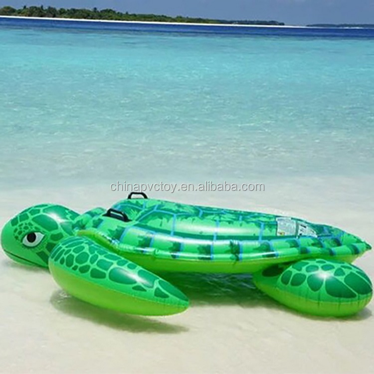 pvc inflatable product tortoise float for swimming pool/inflatable tortoise float toys for sales