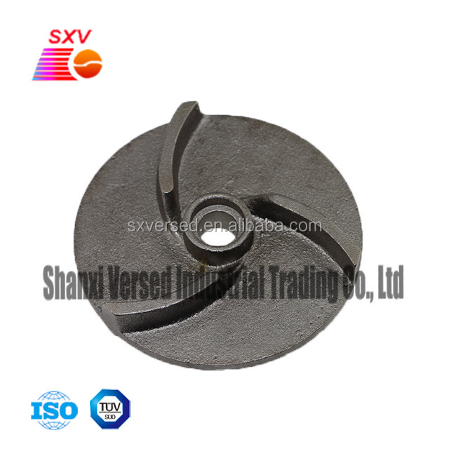 OEM sand casting iron and shot blasting impeller