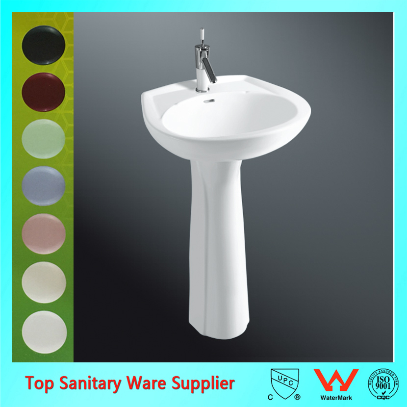 china manufacturer pedestal bathroom sinks