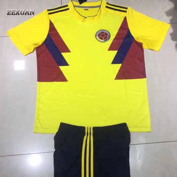 2018 World Cup Colombia National Team Uniform - Buy Colombia ... 6f7cbef56ca7