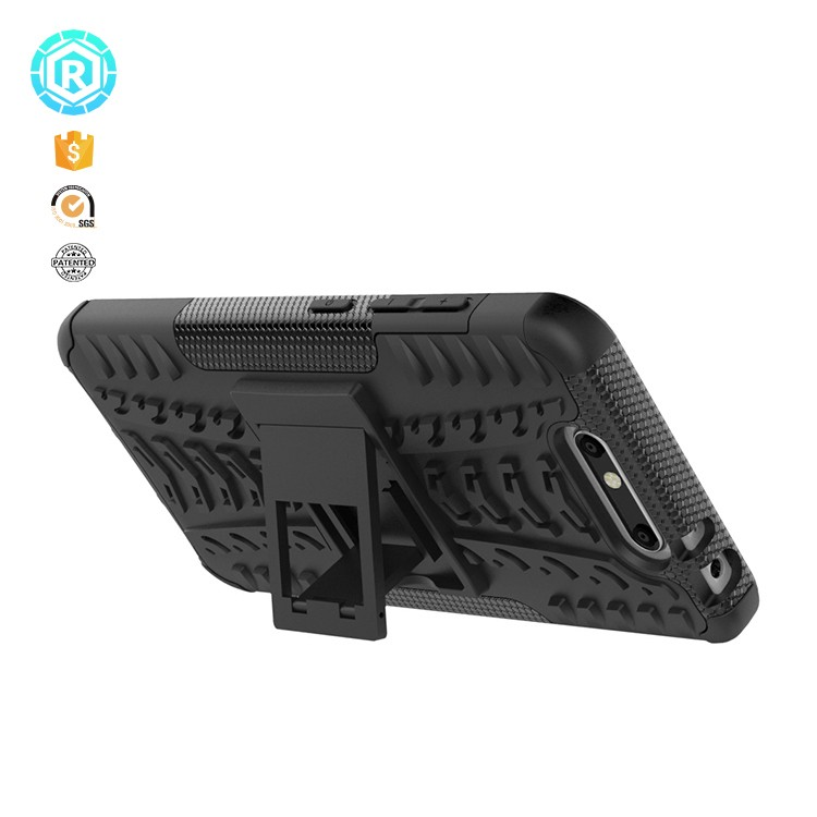 Defender shockproof back cover case for ZTE blade V8