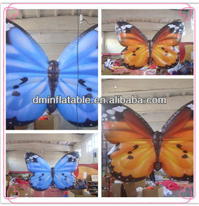 Decorative inflatable butterfly wing for party/event/wedding