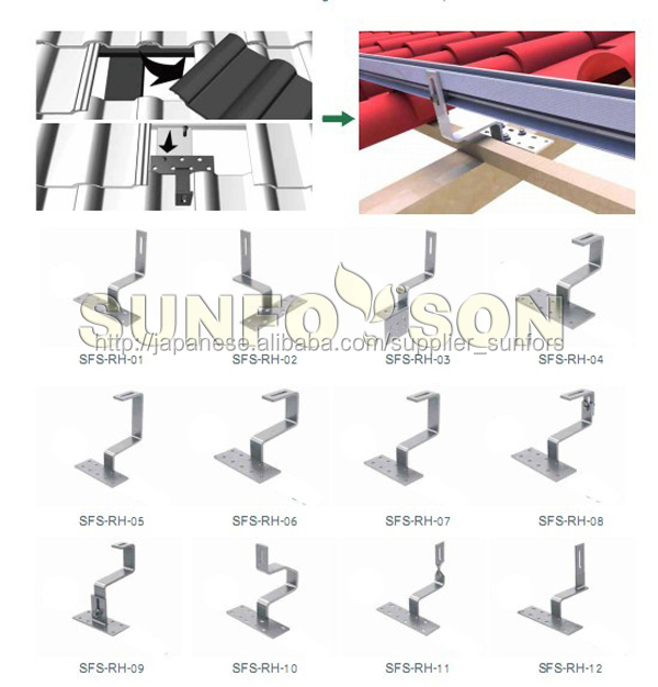 Solar Module Ss304 Pv Mount Clamps Hooks Buy Mount