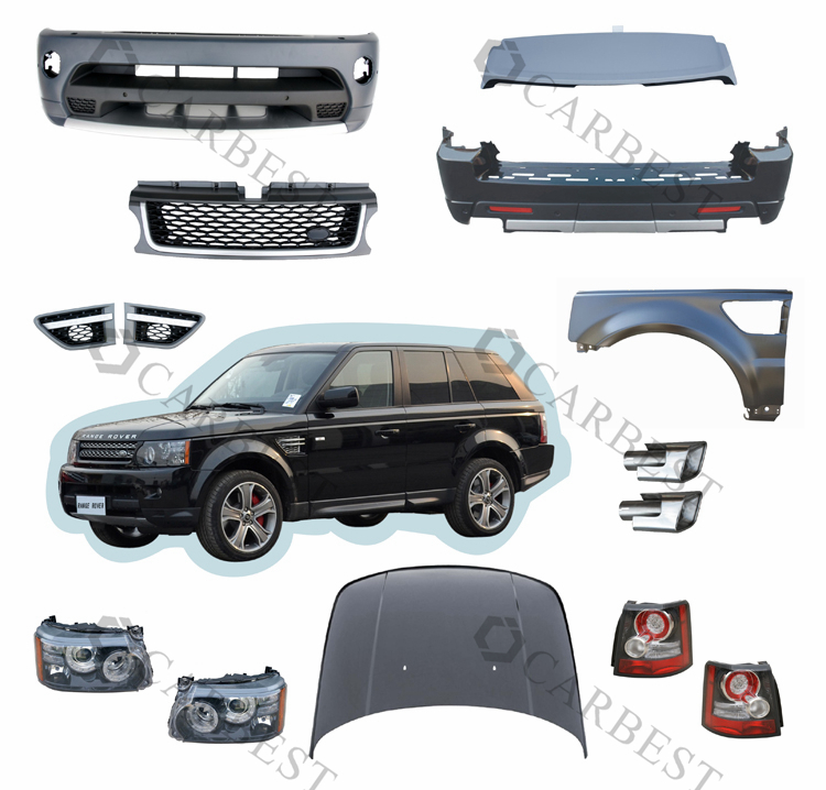 High Quality Hot Selling Body Kit For Land Rover For Range