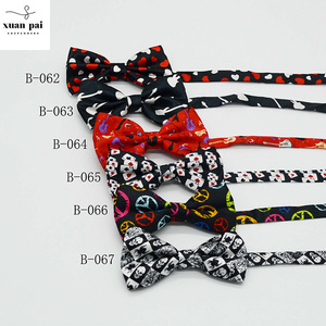 Customized Logo fashion cute fabric mens decoration printing bow ties,men silk bow ties colorful party decoration self tie bow t