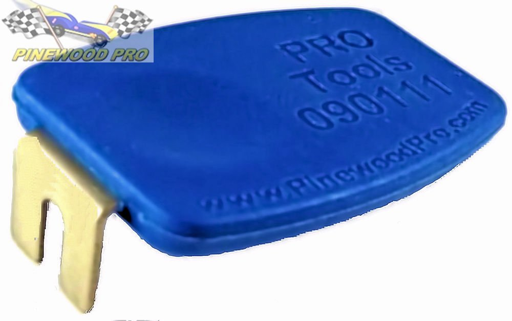 Pinewood Derby PRO Axle Inserter Guide by Pinewood Pro