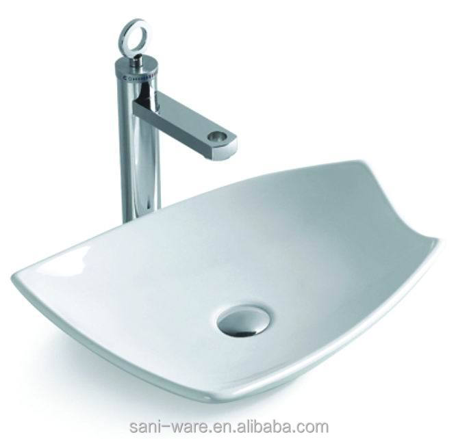 S2042 Perfect Design Bathroom Ceramic Above Counter Washbasin