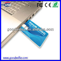 Colourful Picture Credit Card USB Memory Disk with Various Styles for Option,usb card