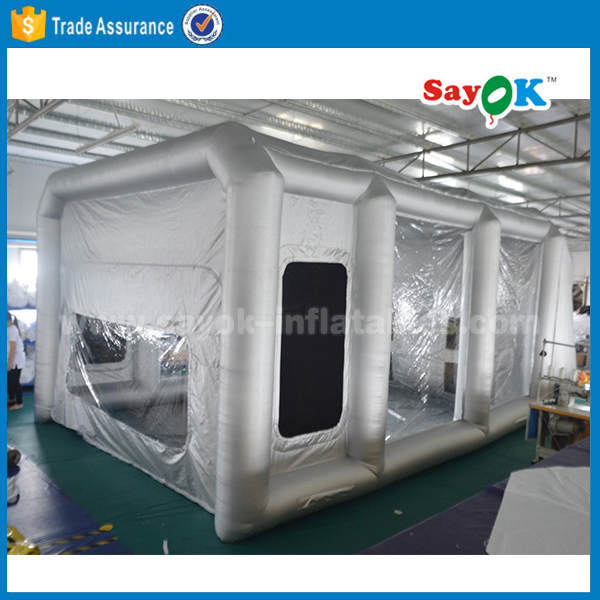 china giant cheap price outdoor party event camping house car wash inflatable transparent tent