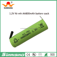 nimh rechargeable battery AA 1.2V digital camera battery/ni-mh aa battery pack