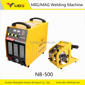 IGBT inverter CO2 MIG welder better price MIG NB-500 CO2 welding machine