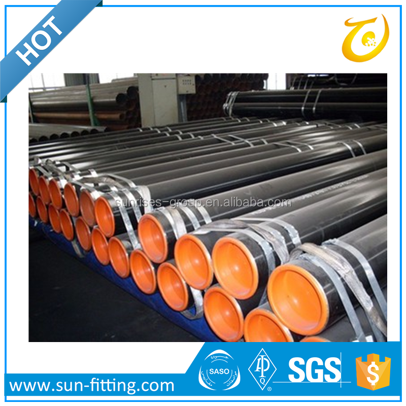Trade Cheap Carbon Black ASTM A53 Seamless Steel Pipe