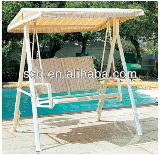 Altalena con baldacchino da giardino rustico indoor swing panca banco di altalena in legno sedia - Altalena da giardino in legno ...
