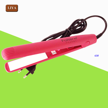 Hair Straightner And Curler Plates Curling Iron Double Use Adjust Temperature Hair Flat Iron