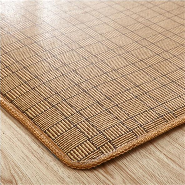 Weave Straw Mat Rattan Bamboo Non