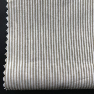 factory direct stripe yarn dyed cotton textile fabric for fabric and lining