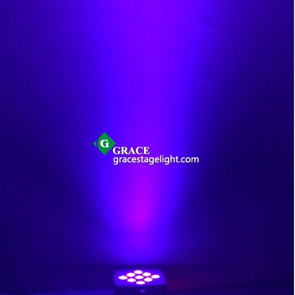 9*18W RGBWAUV 6in1 battery powered led par can