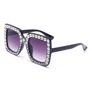 e7472f0ff0 ... Women Sunglasses. Modern cheap designer sun glasses italy oem lady  fashion summer polarized oversize square plastic party diamond