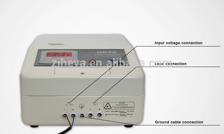 Latest, wall mounted relay type avr 5000va 2kw 5kv automatic voltage stabilizer