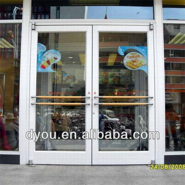 Commercial Aluminum Glass Door Frame