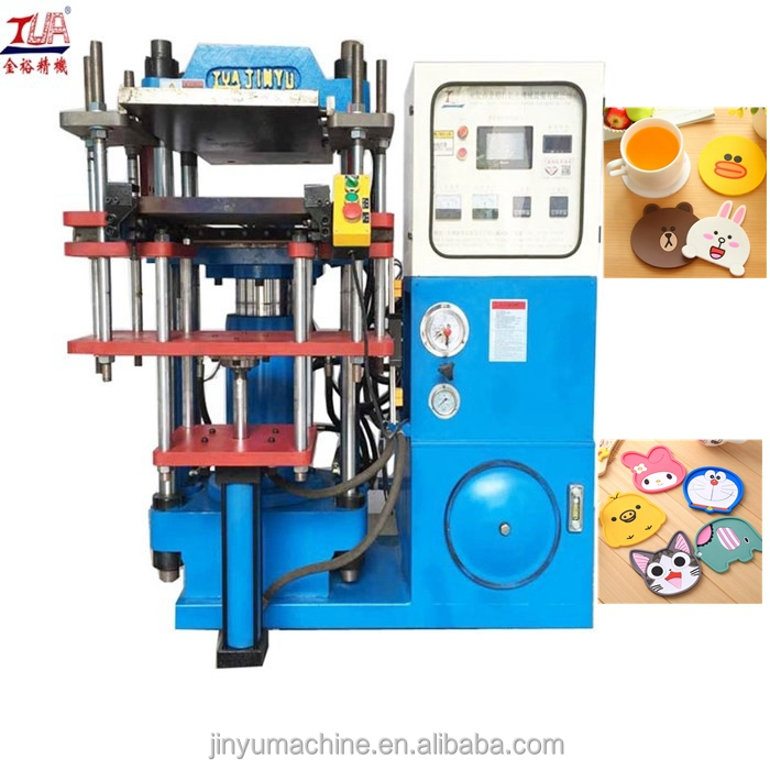 Automatic Silicone Coasters Cup mats moulding machine
