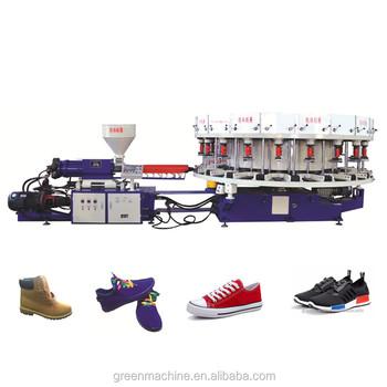 big sale 604b1 f7b3a roterande sko plastinsprutning Överhängande tillverkning Fullautomatisk av  ZgzqUq