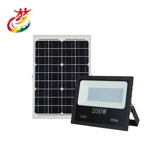 Wholesale Hot Positive white infrared remote control cob outdoor solar led flood light 50w