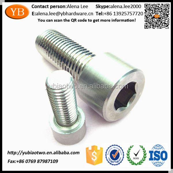 Top Grade Useful Titanium Hexagon Socket Head Cap Screw ISO/TS16949 Passed