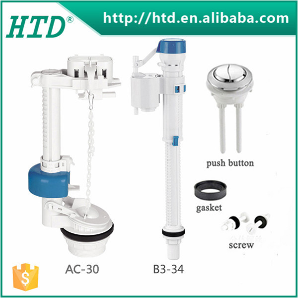 HTD-AC-30+B3-34 Toilet dual flush mechanism, flush valve