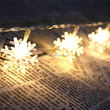 Litter snowflower led christmas lighting string light for new year and Christmas holiday