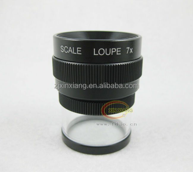 Dome Loupe 7x Magnifier with one led light
